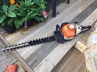 Stihl hs extra long hedge cutter