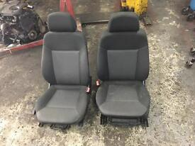 Vauxhall Zafira Front seats