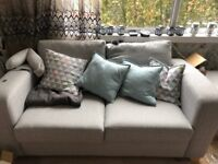 Sofa bed very good condition with storage