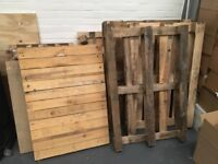 Wooden Pallets various sizes free to collect
