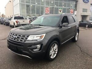 2016 Ford Explorer Limited MOONROOF LEATHER BLIND SPOT DETECTION