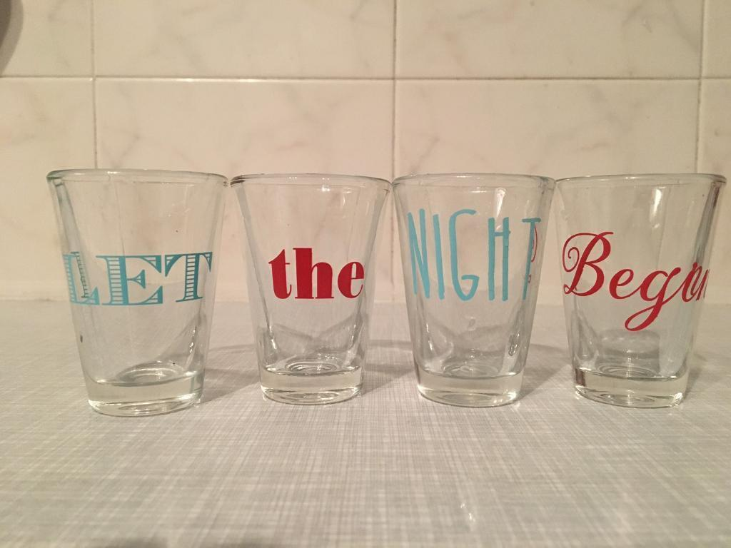 Shot Glasses x 12