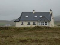 DERRYREEL Cottage Near Dunfanaghy in Donegal on Wild Atlantic Way, Holiday Cottage, Self Catering