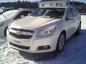 2013 Chevrolet Malibu LT WITH LEATHER, SUNROOF, HEATED SEATS