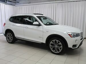 2015 BMW X3 28i x-DRIVE SUV w/ NAVIGATION, REAR CAMERA, PANORA