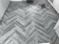 Luxury vinyl tiles and quality carpets