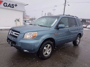 2007 Honda Pilot EXL, Leather, Roof, Only 153 km