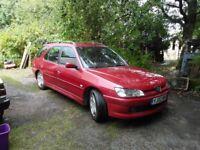 Peugeot 306 1.9 Diesel Meridian Estate 02 Spares or Repair