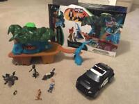 Zootopia play set with car and extra figures