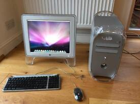 Apple PowerMac G4 933MHz and screen
