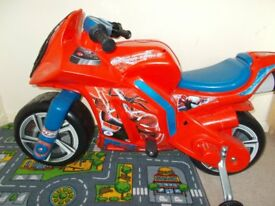 6 Volt childs Spiderman motorbike