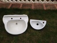 Basin twin ceramic