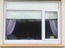 2 Double glazed windows , excellent condition