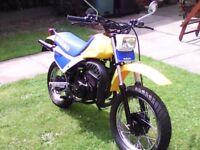 suzuki 80 enduro. may class large monkey bike