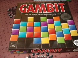 Gambit board game
