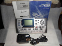 yamaha qy100 sequencer/groovebox - excellent condition, 8mb smartmedia + both manuals & 12v adapter