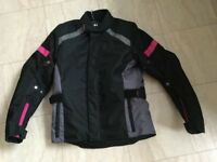 Ladies motorbike jacket, NEW, small (RRP £89.99)