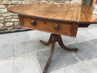 Antique table, folding