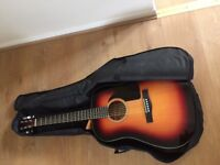Fender Acoustic Guitar and Accesories
