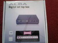 ALBA DIGITAL set top box