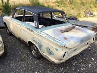 Ford Cortina GT Mk1 1966 Classic Restoration project ,incomplete, really solid ,race Road Lotus