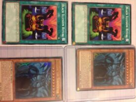 Yu-Gi-Oh cards- 8 in total, including 2 limited edition cards, Obelisk The tormentor.