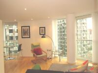 Spectacular two bedroom in Millharbour
