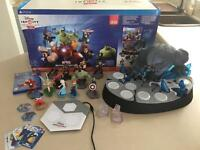 Boxed PS4 Disney Infinity 2.0 Marvel Super Heroes Collector Edition with 12 figures