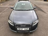 STUNNING CONDITION S-LINE 2008 AUDI A4 AVANT 2.0 TDI DRIVES LIKE NEW,FULL HISTORY,2 KEYS,2 OWNERS