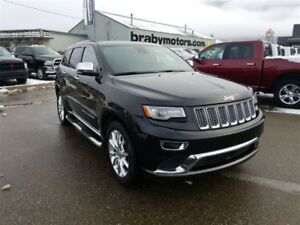 2014 Jeep Grand Cherokee Summit V6 Nav Panoramic Sunroof