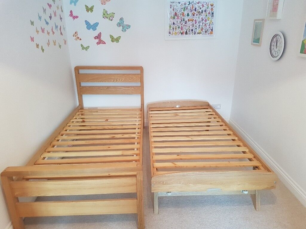 Benson For Beds Hip Hop 3 In 1 Bed Frame In Ash With Pull Out Trundle In East Molesey Surrey Gumtree