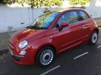 FIAT 500 Lounge, Excellent condition throughout comes service history, low mileage, New MOT