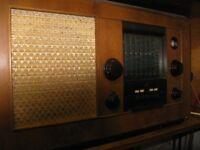 EK Cole Vintage Radio Set. Interesting Historical Radio for Collector.