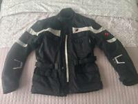 Motorcycle textile jacket and trousers