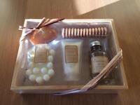 Gift set - new in box. Bath & body. Cinnamon fragrance