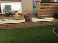 Wooden planters for sale