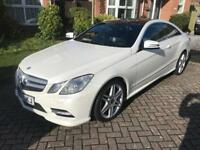 Mercedes Benz E350 Coupe AMG Sport