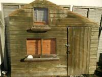 8 x 6 ft Wendy House 2 storey