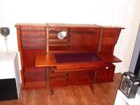 retro vintage metamorphic newcraft home office foldaway desk cube