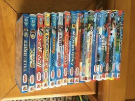 16 Thomas the Tank DVD s. All in excellent condition.
