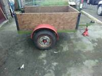 Farm yard trailer