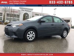 2014 Toyota Corolla CE ONE OWNER CLEAN BC CAR
