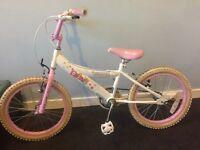 """Girls 14""""bike"""