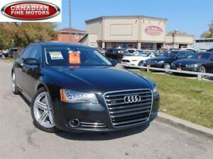 2011 Audi A8 NAVI-CAM-MASSAGE-NIGHT VISION- BLIND SPOT