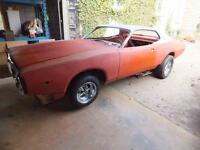 1974,73,72 dodge charger project car
