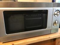 Tesco 700w silver microwave oven