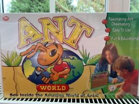 KIDS EDUCATIONAL FUN KIT - ANT WORLD - NEW