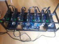 7 GPU Mining rig [Rx 580 8gb's]