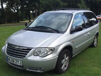 Chrysler Grand Voyager 2008 7 Seater CRDExecutive 5dr Silver Full Leather Interior Top Spec Model