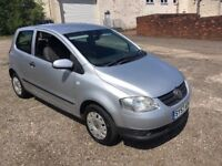 2007 57 reg vw Fox 1.2 reliable car cheap to run 1 owner from new